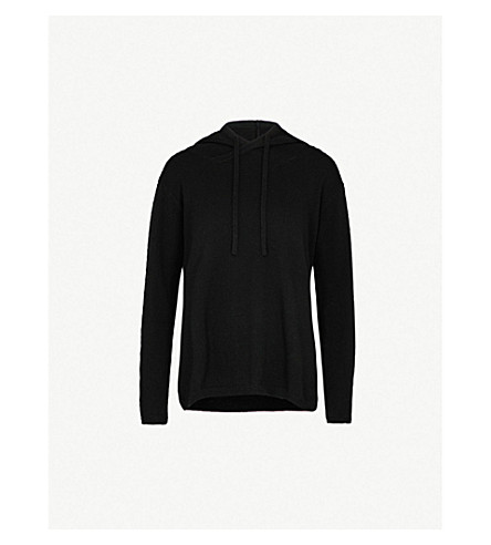 ALLUDE Hooded cashmere jumper (90
