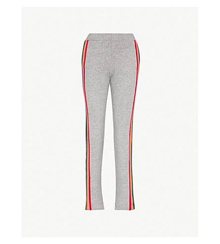 ALLUDE Side-stripe wool-blend track pants (83