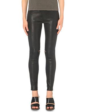 DRIFTER Valkyrie leather leggings