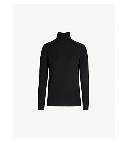 &DAUGHTER Casla turtleneck cashmere jumper (Black