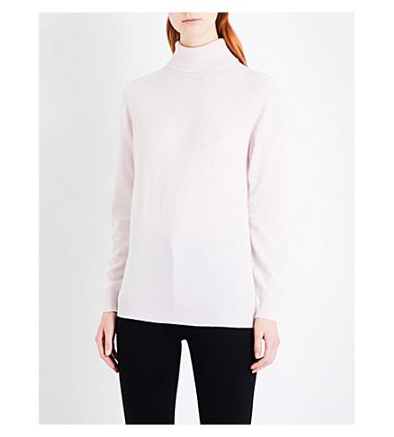 &DAUGHTER Casla turtleneck cashmere jumper (Blush