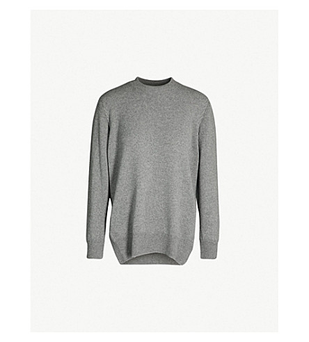 &DAUGHTER Banba wool and cashmere-blend jumper (654 smog (grey)