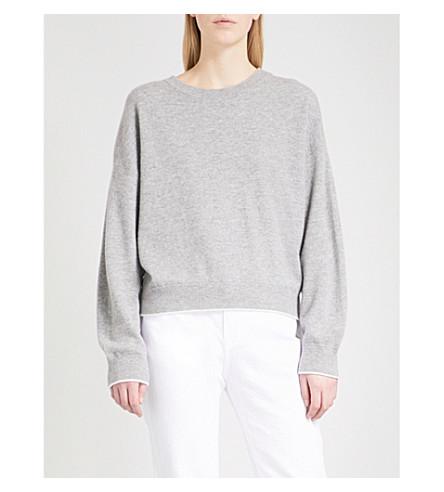 VINCE Slouchy cashmere-blend jumper (981hsw