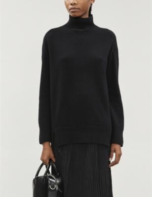 Turtleneck cashmere jumper