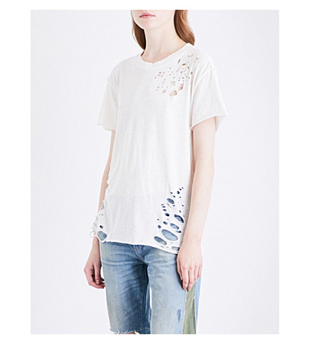 NSF Moore cotton-jersey T-shirt (Soft+white