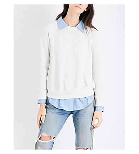NSF Franny cotton sweatshirt (Light+heather