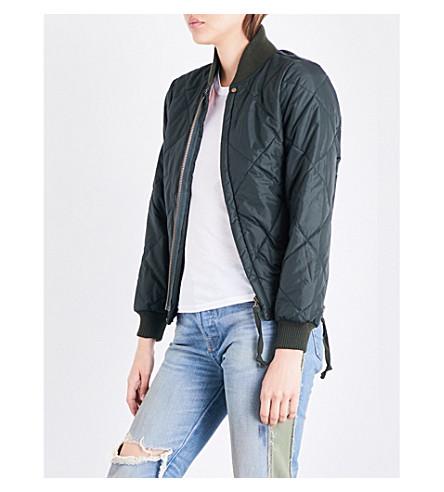 NSF Neil shell bomber jacket (Dark+olive