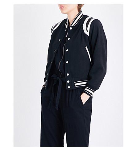 NSF Kenny wool-blend bomber jacket (Black