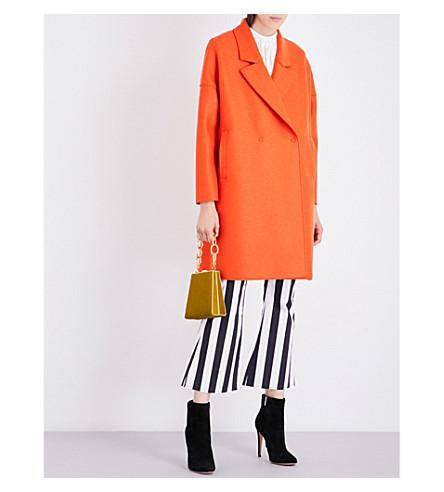 HARRIS WHARF LONDON Oversized wool coat (Orange