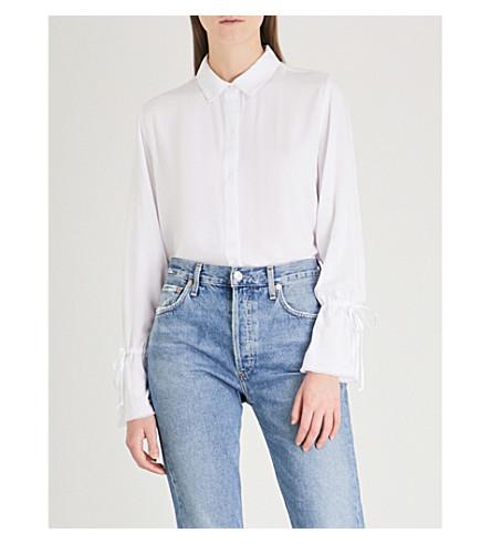 RAILS Astrid woven shirt (White