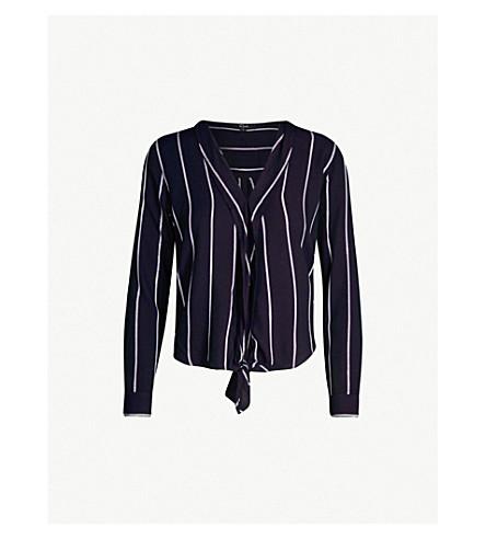 RAILS Ava striped flannel shirt (Livorno stripe