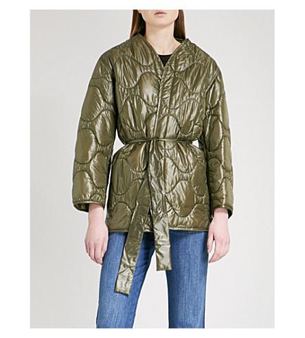 NILI LOTAN Varic shell puffer jacket (Army+green