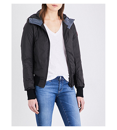 CANADA GOOSE Dore Hoody quilted jacket (Black