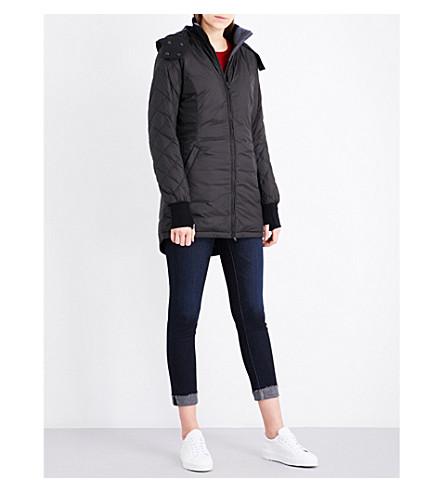 CANADA GOOSE Stellarton shell coat (Black
