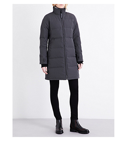 CANADA GOOSE Heatherton quilted shell coat (Graphite