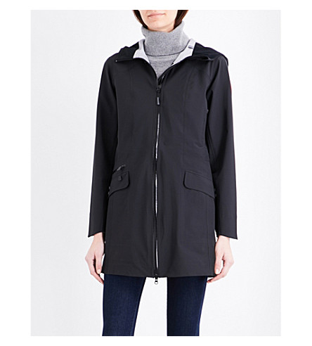 CANADA GOOSE Coastal waterproof shell jacket (Black