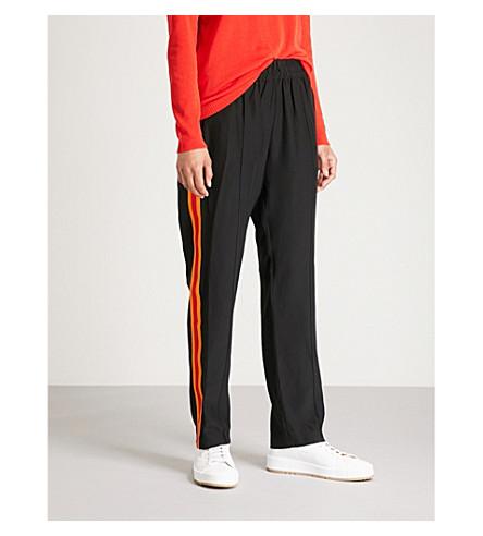 SERENA BUTE LONDON Sb trs skinny jogger (Black+w+orange+red+strip