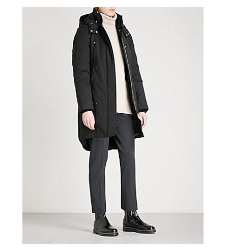 MOOSE KNUCKLES Stirling cotton-blend parka coat (Black/noir