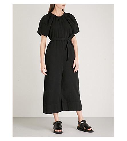 APIECE APART Soleil cotton jumpsuit (Black