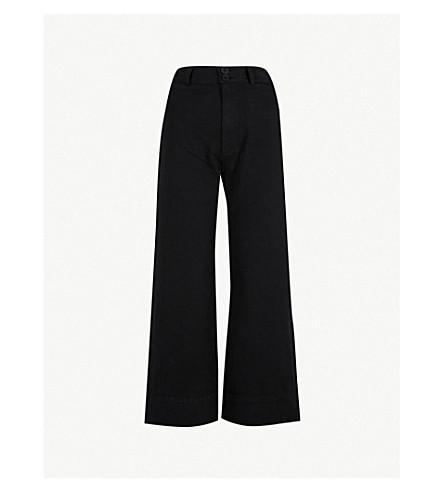 APIECE APART Merida wide-leg cotton trousers (Black