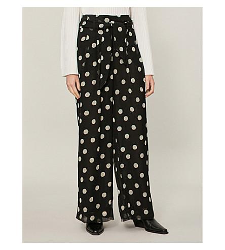 alto Pantalón lunares algodón con lunares de rayas de NANUSHKA a 5PnTxn
