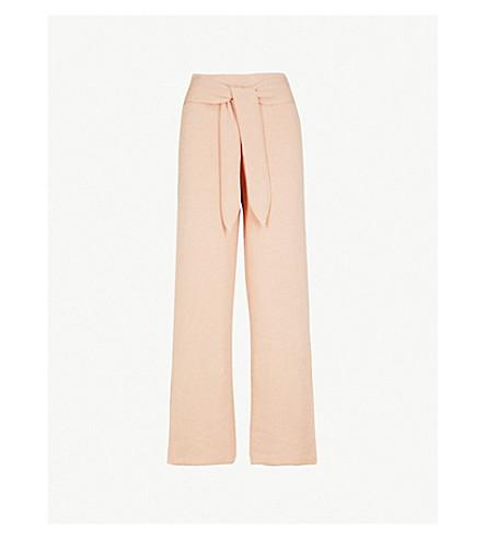 NANUSHKA蒂格雷针织平纹针织面料裤子 (苹果 + 开花