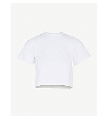 HANES X KARLA The Baby cotton T-shirt (White
