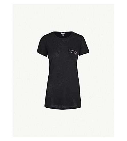 ROTTEN ROACH Jet-Lagged knitted T-shirt (Black