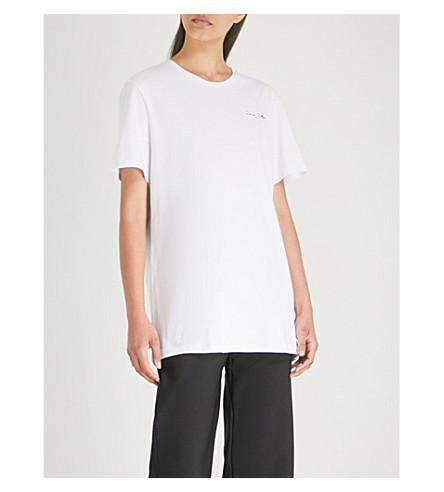 NINETY PERCENT Dress Better cotton-jersey T-shirt (White