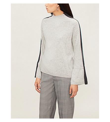 NAADAM Astraea high-neck cashmere sweater (Cement