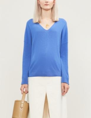 Nola brushed fine-knit cashmere jumper