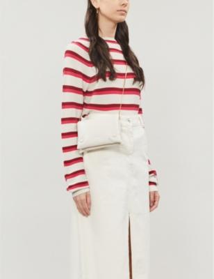 Zande striped cotton-knit jumper