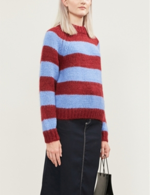 Simone striped knitted jumper