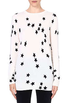 EQUIPMENT Star-print cashmere jumper