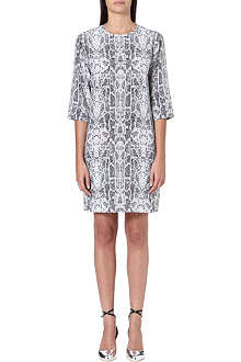 EQUIPMENT Aubrey cobra-print silk dress