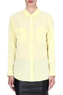 EQUIPMENT Signature silk shirt