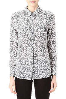 EQUIPMENT Earl leopard-print silk shirt