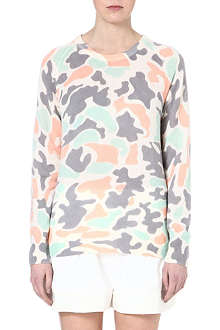 EQUIPMENT Camouflage cashmere jumper