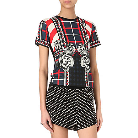 EMMA COOK Abbie printed t-shirt (Red