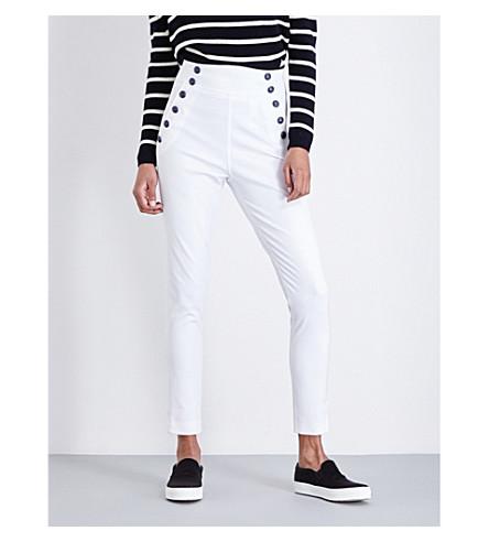 TOMMY HILFIGER Tommy x Gigi skinny high-rise jeans (Cream