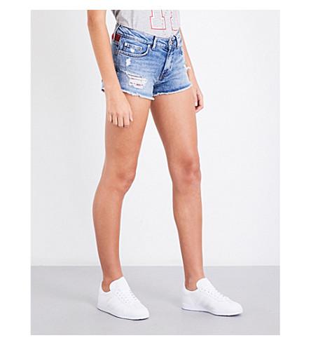TOMMY HILFIGER Tommy Hilfiger x Gigi Hadid destroyed denim shorts (Lexi