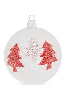 ORNEX Beaded trees bauble 10cm