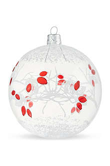 ORNEX Red berries bauble