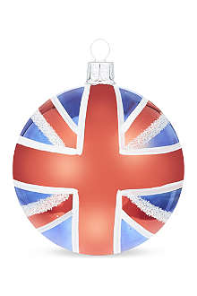 ORNEX Union Jack bauble 8cm