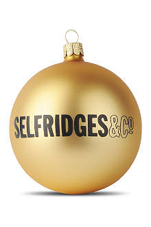 SELFRIDGES Selfridges bauble