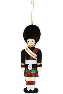 ST NICOLAS Scotsguard tree decoration