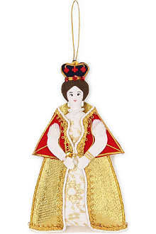 ST NICOLAS Queen Victoria tree decoration