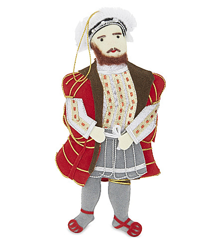 HANGING ORNAMENT Henry VIII tree decoration 18.cm