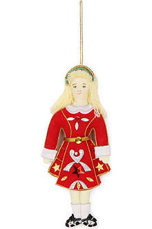 ST NICOLAS Female Irish dancer tree decoration