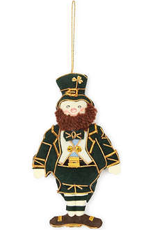 ST NICOLAS Irish leprechaun tree decoration